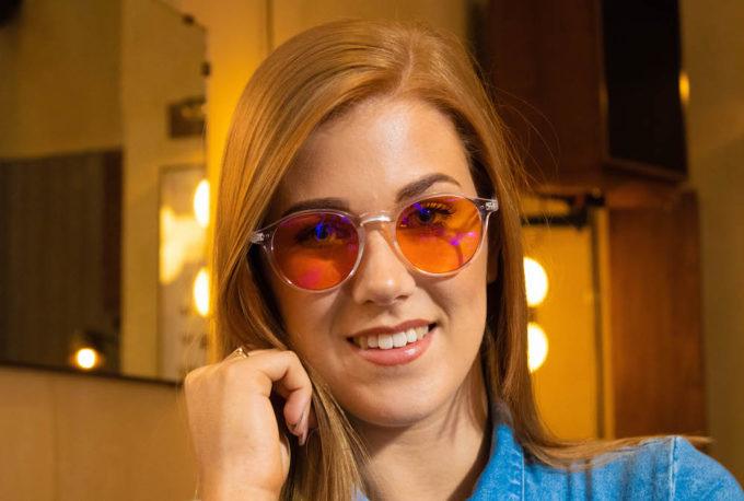 Foxmans blue-light blocking computer glasses