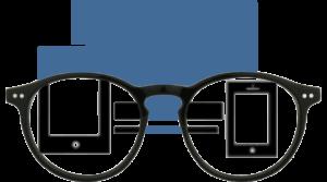 Foxmans blue-light blocking computer glasses Everyday Lens