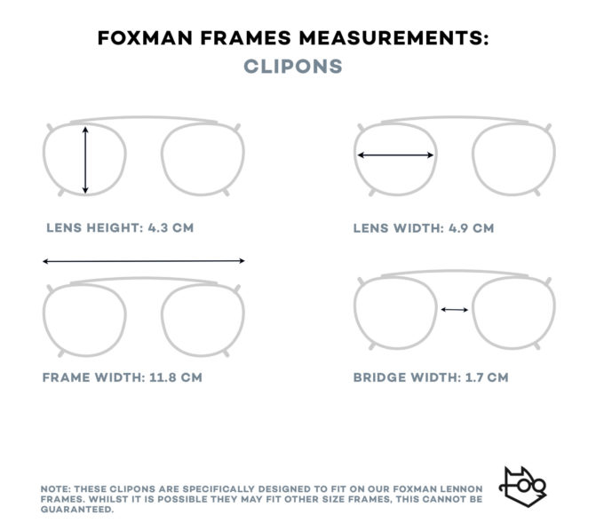 Foxmans blue-light blocking computer glasses